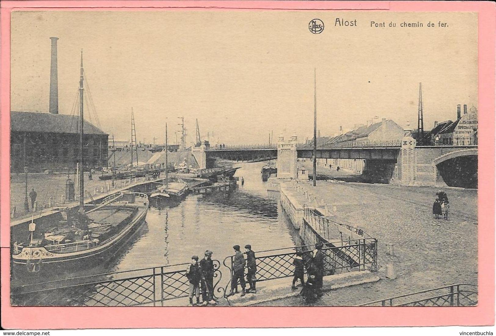 Alost - Pont Du Chemin De Fer - Autres
