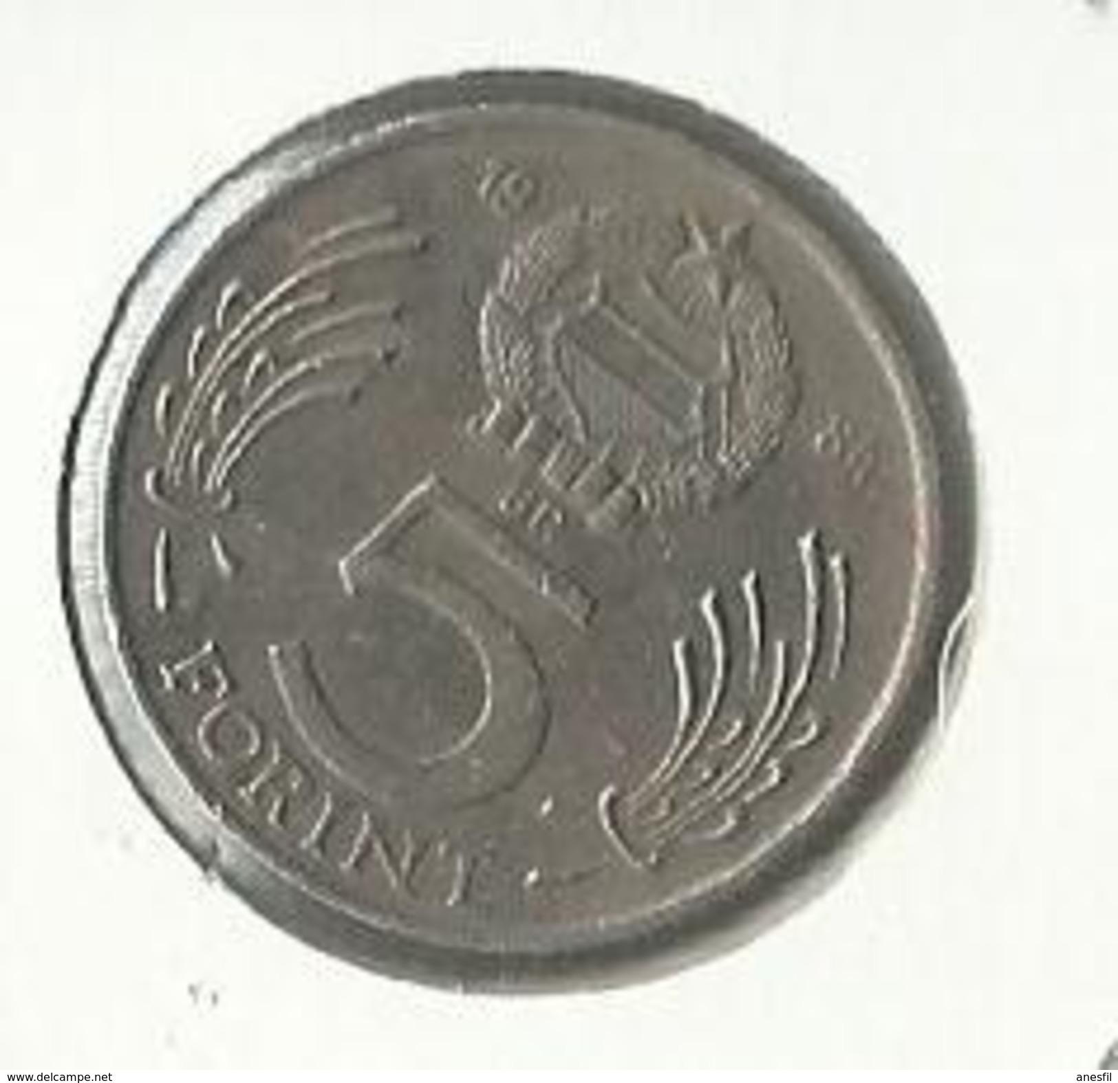 Hungría_1984_5 Forint: EBC+ - Hungría