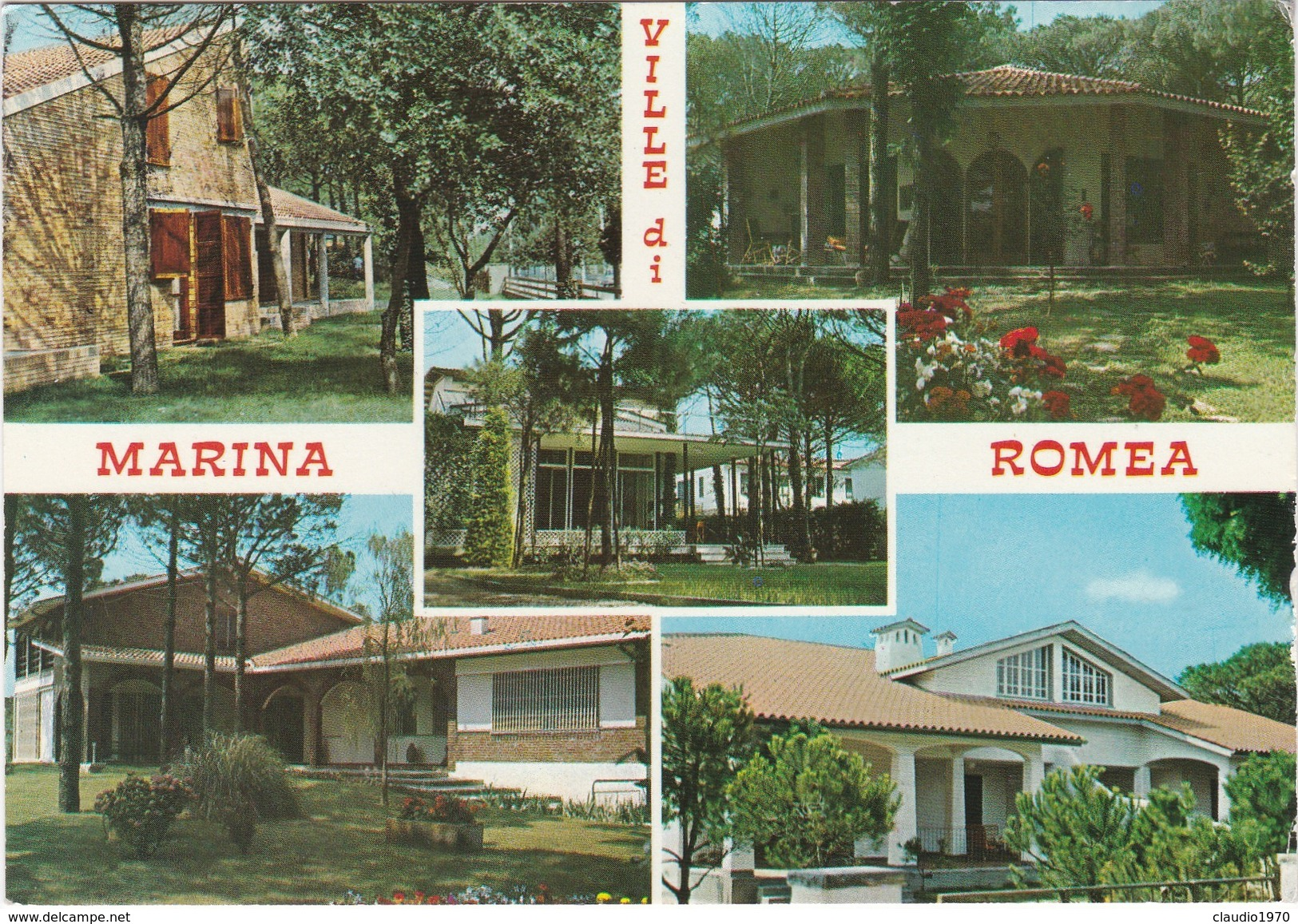 Cartolina - Postcard   -  RAVENNA - VILLE DI  MARIANA ROMEA - Ravenna