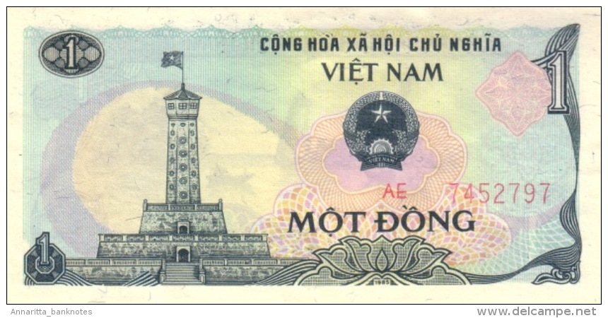 VIETNAM 1 DONG 1985 P-90a UNC [ VN318a ] - Viêt-Nam