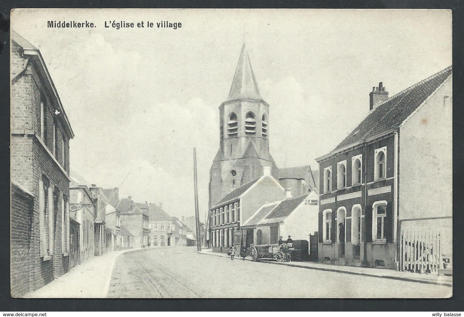 +++ CPA - MIDDELKERKE - Eglise Et Village   // - Middelkerke