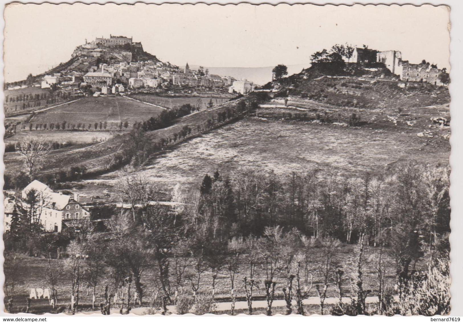 12 Severac Le Chateau  Vuede Severac Et De Notre Dame  De Lorette - Autres Communes