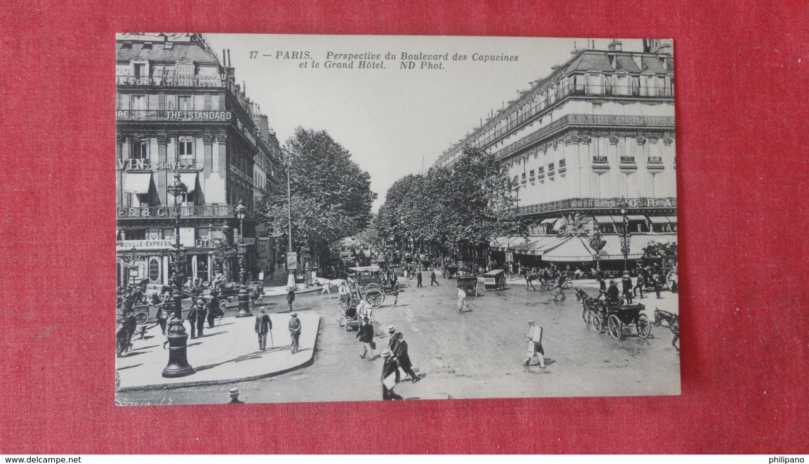 France > [75] Paris  Street View --------  Ref 2565 - Autres