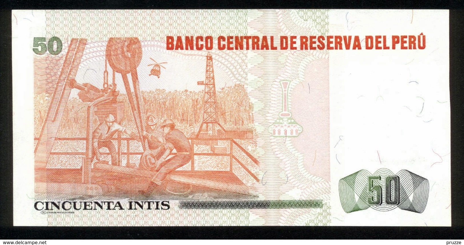 Peru 1987, 50 Intis - UNC - A1921042L - Peru