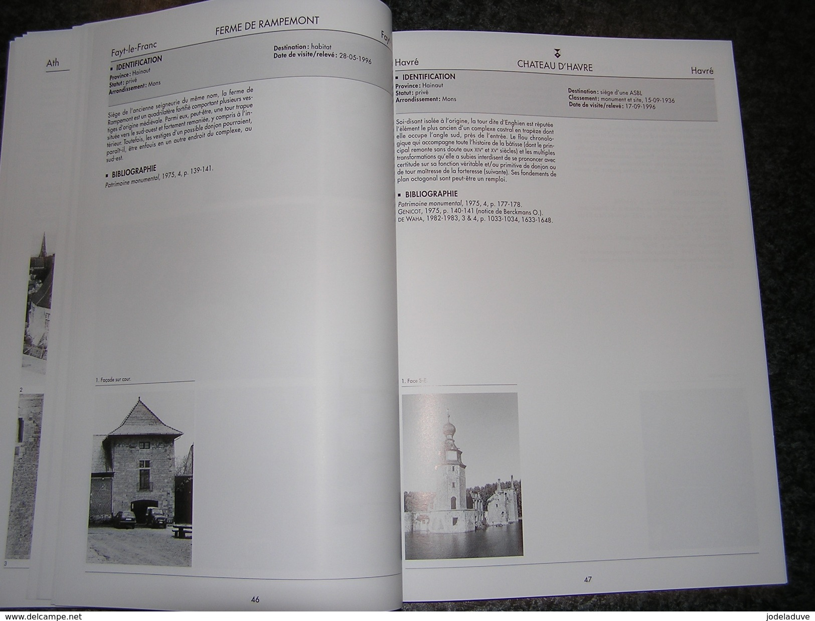 DONJONS MEDIEVAUX DE WALLONIE  Vol 2 Hainaut Régionalisme Beaumont Braine Mellet Enghien Jurbise Lessines Antoing Celles - Culture