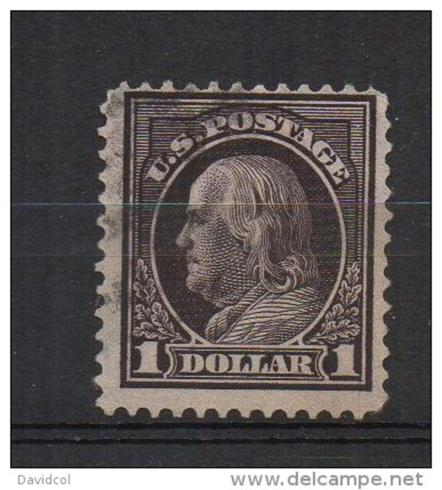 N854.-. USA / ESTADOS UNIDOS.-.1912 .-. SC# : 423 .-.USED .-.FRANKLIN .-. CAT VAL US$  75.00 - Used Stamps