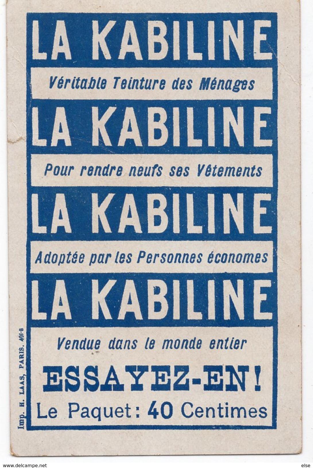 COQUETTERIE   CHROMO  LA KABILINE - Andere