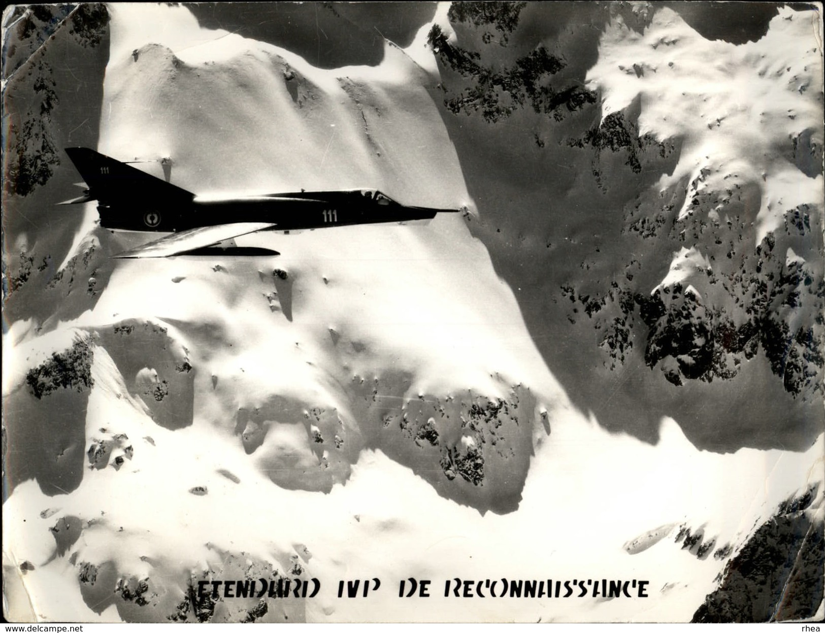 PHOTO - Photo De Presse - AVIATION - Etendard IVP De Reconnaissance - Avions Militaires - Aviation