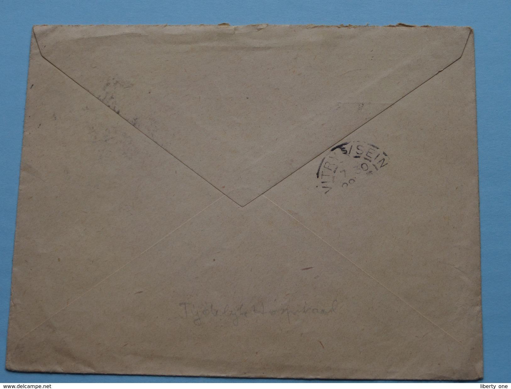 Enveloppe ( Hopital Temporaire 104 LIANCOURT - RANTIGNY Anno 1915 ( Oise ) ( Zie/voir Foto Voor/pour Détails ) !! - Marcophilie (Lettres)