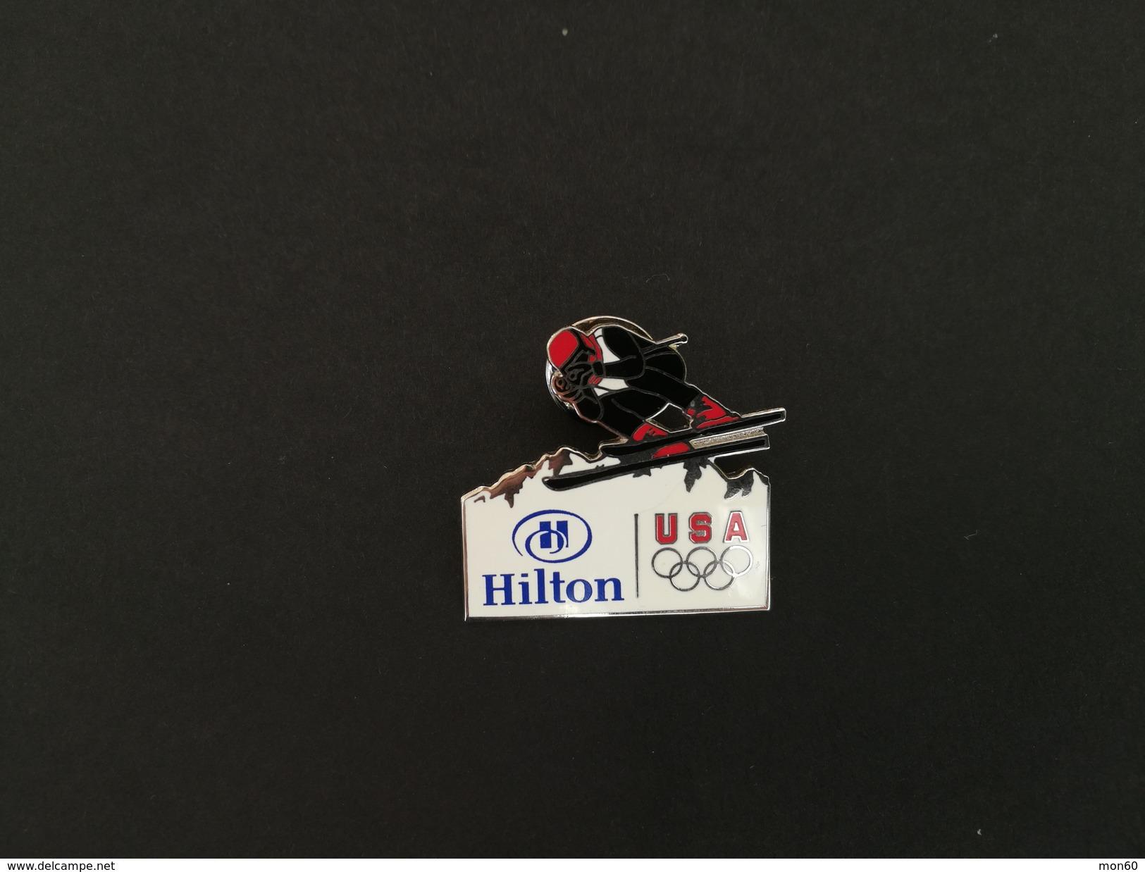 Pin Olimpiadi USA Hilton -P443 - Pin's