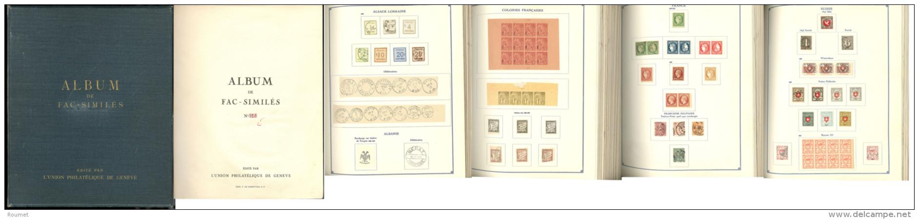 Faux Fournier, Album Des Fac-similé N°128, édité Par L'Union Philatélique De Genè - Postzegels