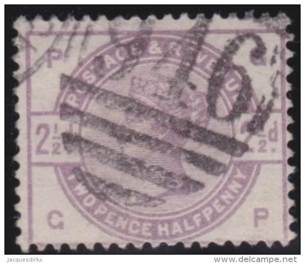 Great  Britain    .   Yvert   79           .    O      .   Gebruikt    .     /    .     Cancelled - 1840-1901 (Victoria)