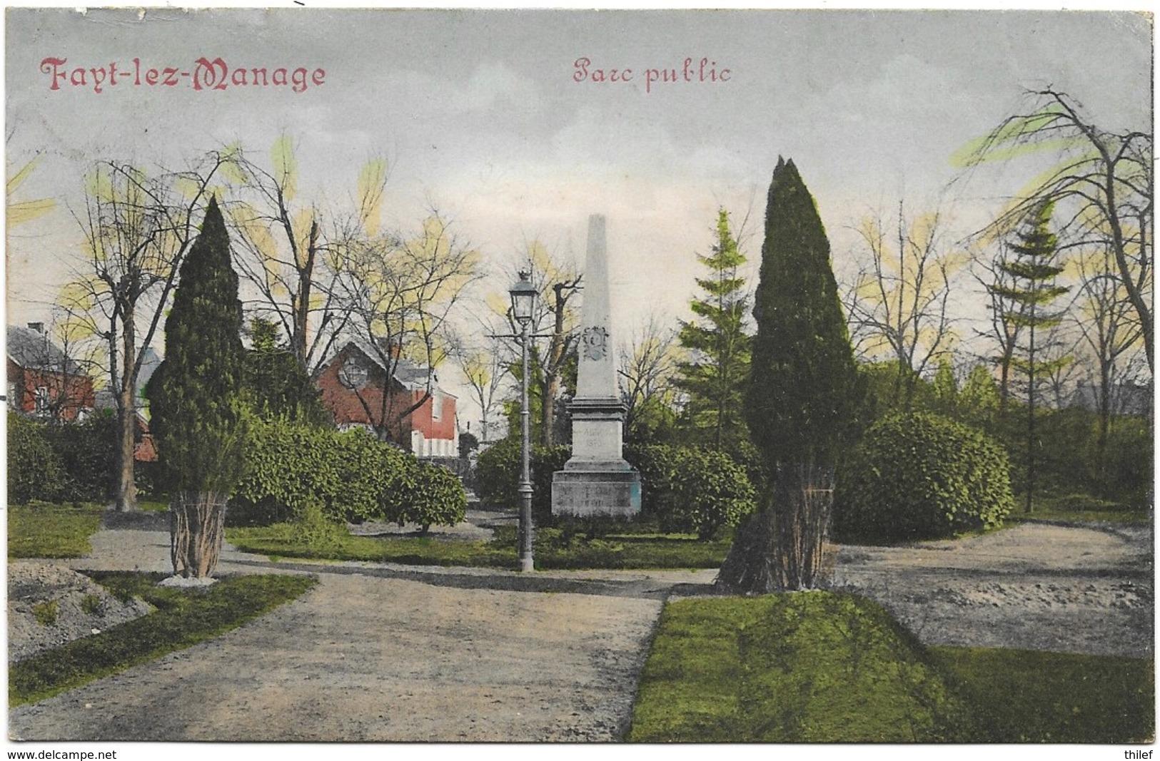 Fayt-lez-Manage NA2: Parc Public 1912 - Manage
