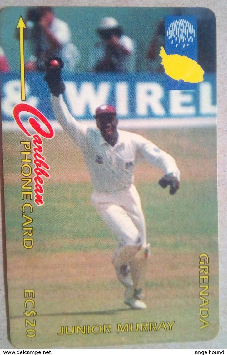 Grenada Phonecard 13CGRB EC$20 Junior Murray - Grenada