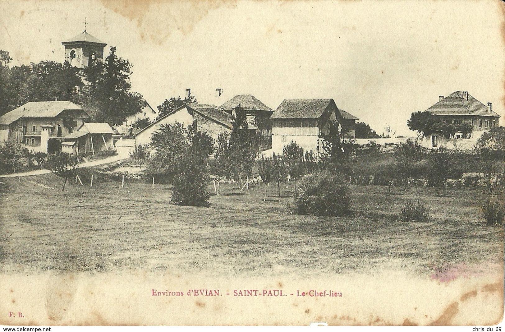 Environs D Evian Saint Paul Le Chef Lieu - Autres Communes