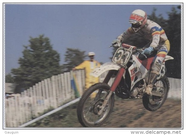 CPM - JOHN VAN DEN BERK - MOTO CROSS - Edition Ch.Corlet - Motorcycle Sport