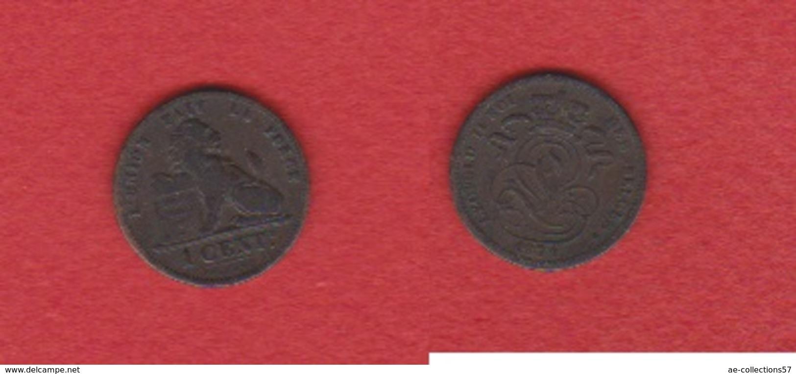 Belgique  --  1 Centime 1874 --  état  TB - 1865-1909: Leopold II