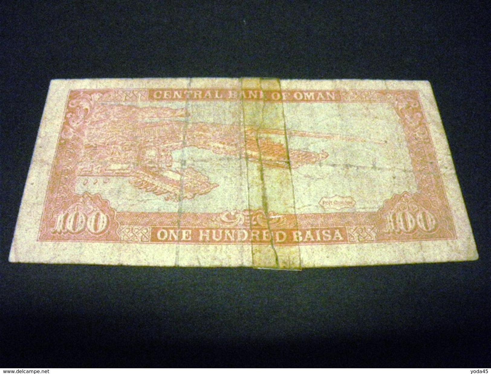OMAN 100 Baisa 1987 , Pick N° 22 A , OMAN - Oman