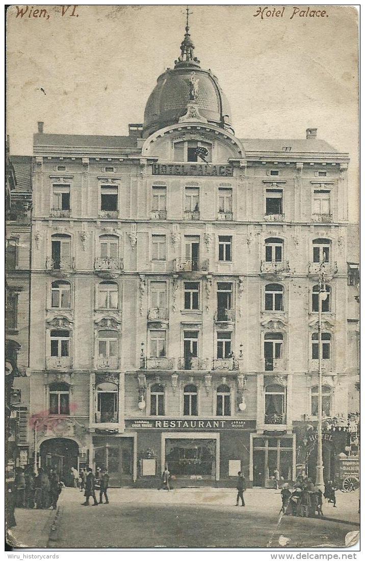 AK 0677  Wien - Hotel Palace / Verlag Wolf Um 1907 - Wien Mitte