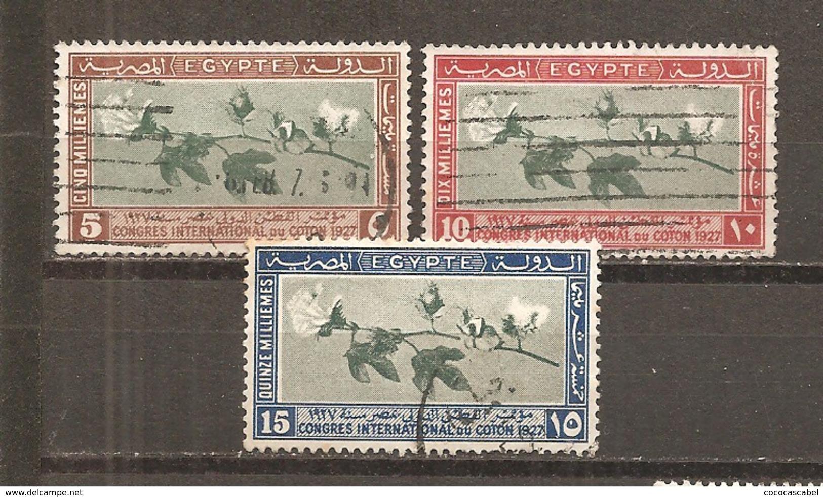 Egipto - Egypt. Nº Yvert  115-17 (usado) (o) - Usados
