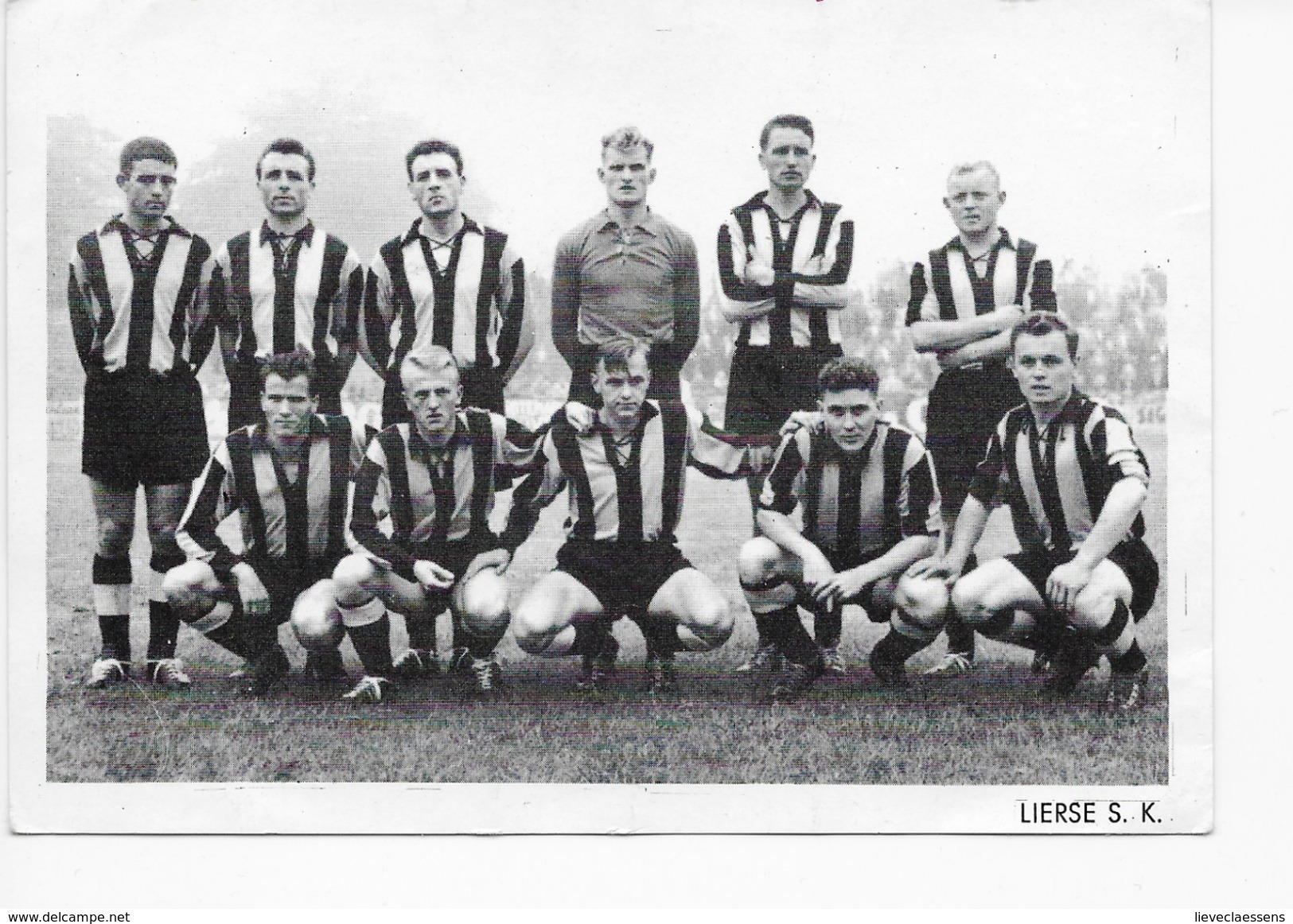 Lier : LIERSE S.K. 1958-1959 - Lier