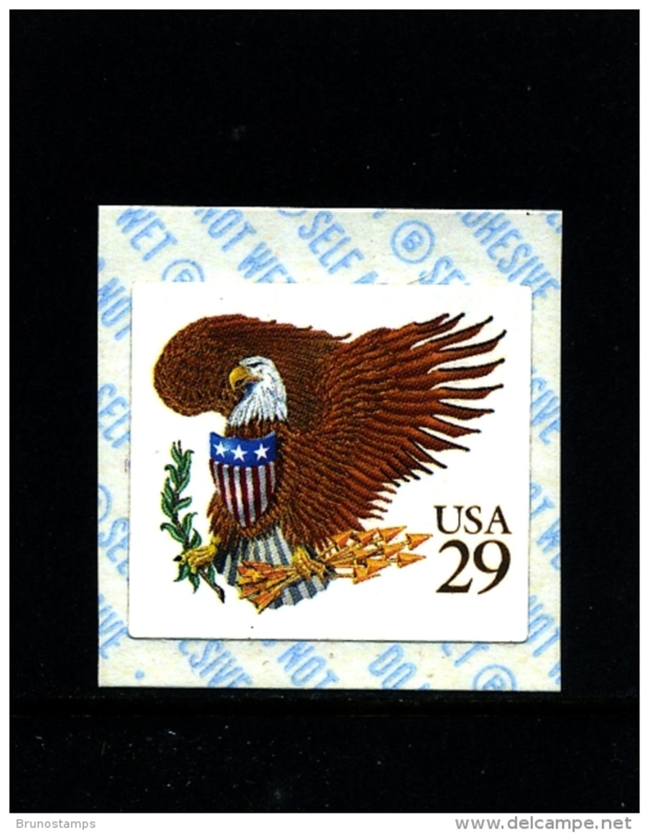 UNITED STATES/USA - 1992  29c  EAGLE  (BROWN)  SELF ADHESIVE MINT NH - Stati Uniti