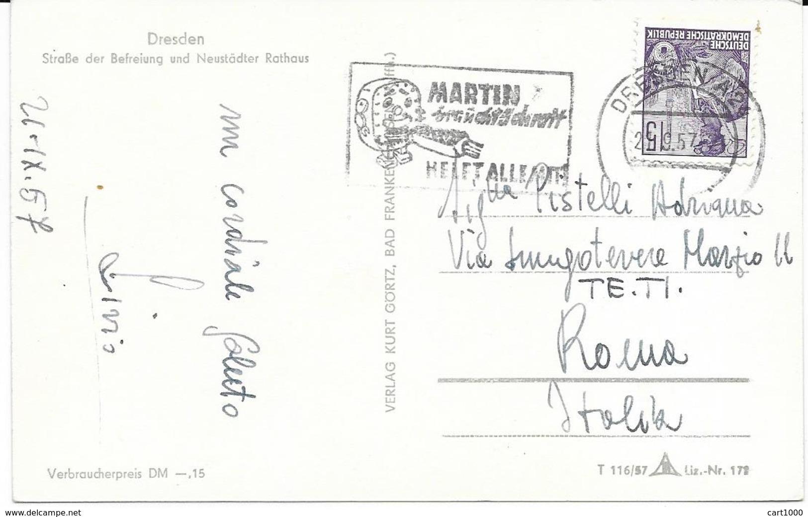DRESDEN 1957 - Dresden