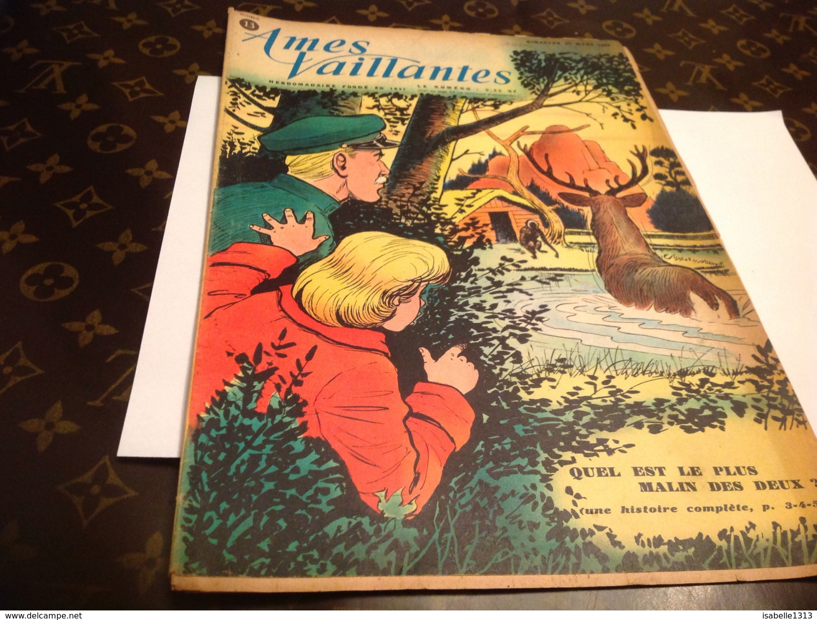 ÂMES VAILLANTES Magazines-et-periodiques-autre-magazines/ames-vaillantes 1960 - Magazines Et Périodiques