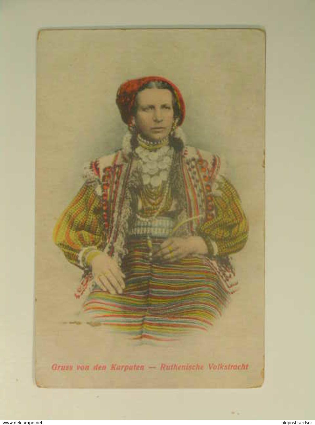UKR 303 Karpaten Costume Ed Schonfeld 1917 - Ucraina