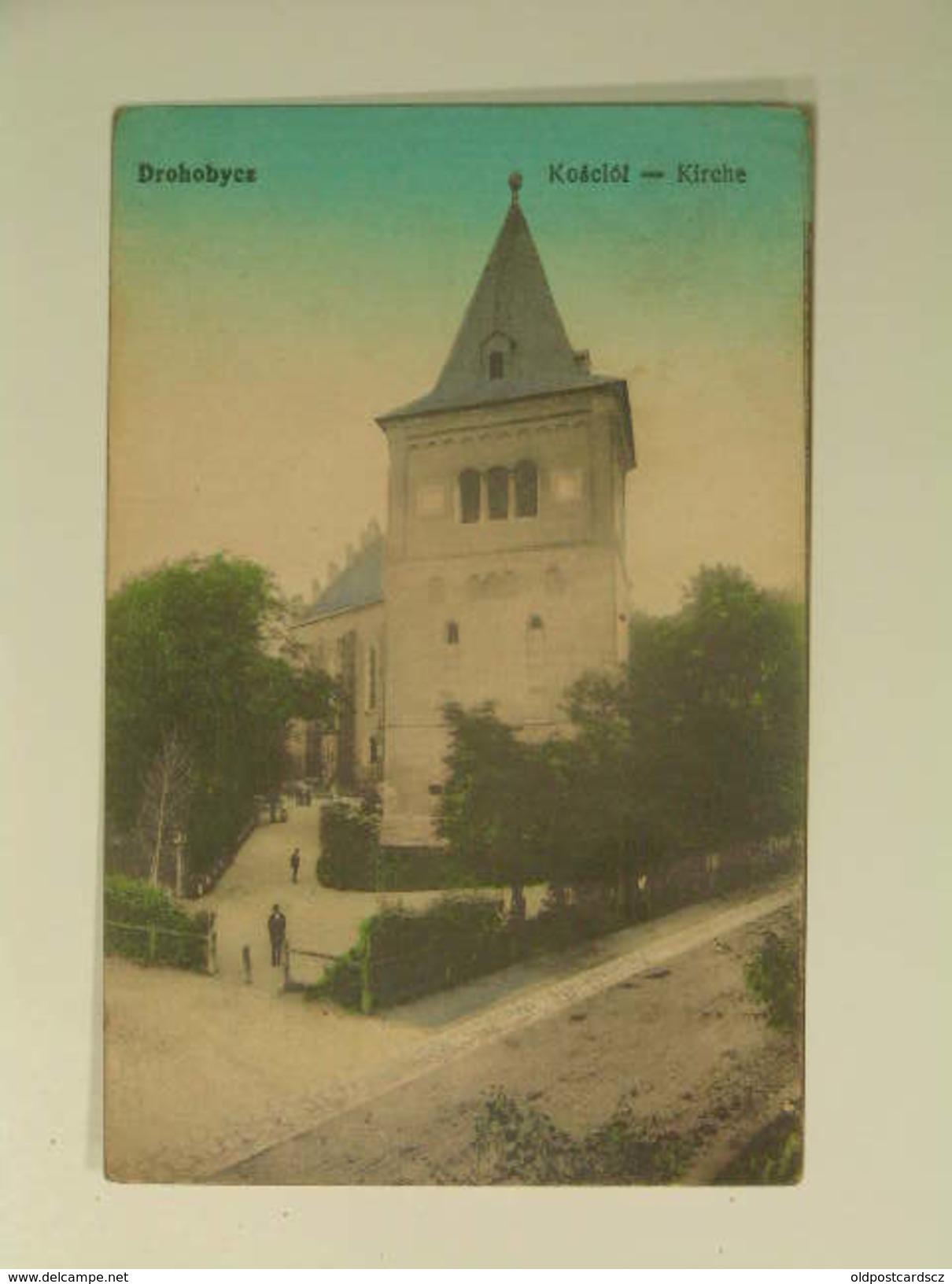 UKR 306 Drohobycz 1918 Ed Leon Rosenschein Kirche - Ucraina