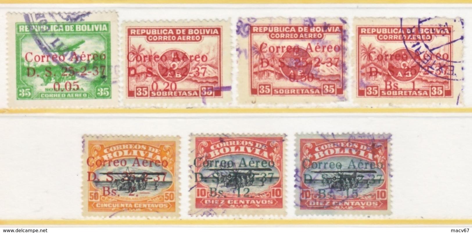 BOLIVIA  C 52-8   (o) - Bolivie