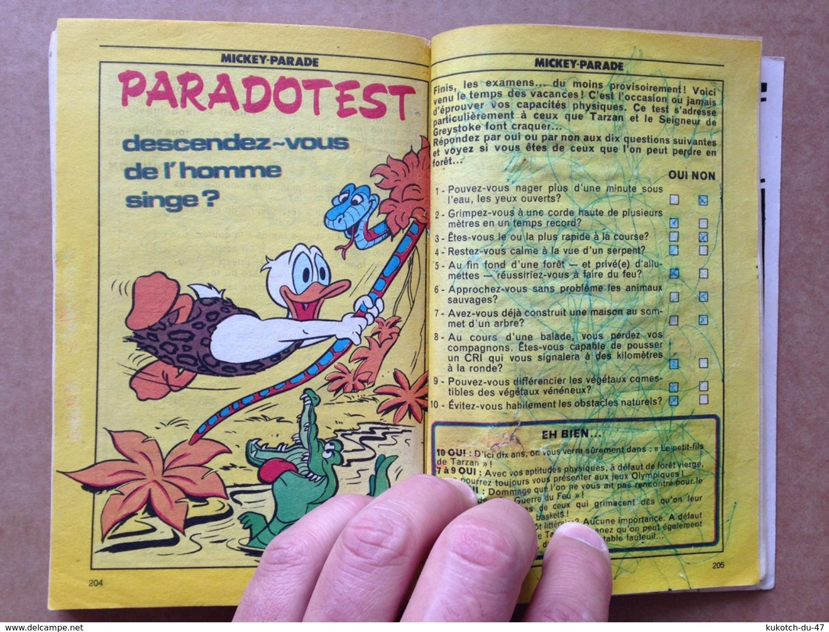 Disney - Mickey Parade - Année 1985 - N°67 - Mickey Parade