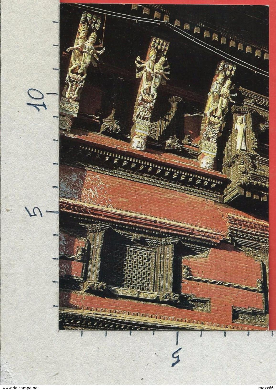 CARTOLINA NV NEPAL - KATHMANDU - Wood Carving - 9 X 14 - Nepal