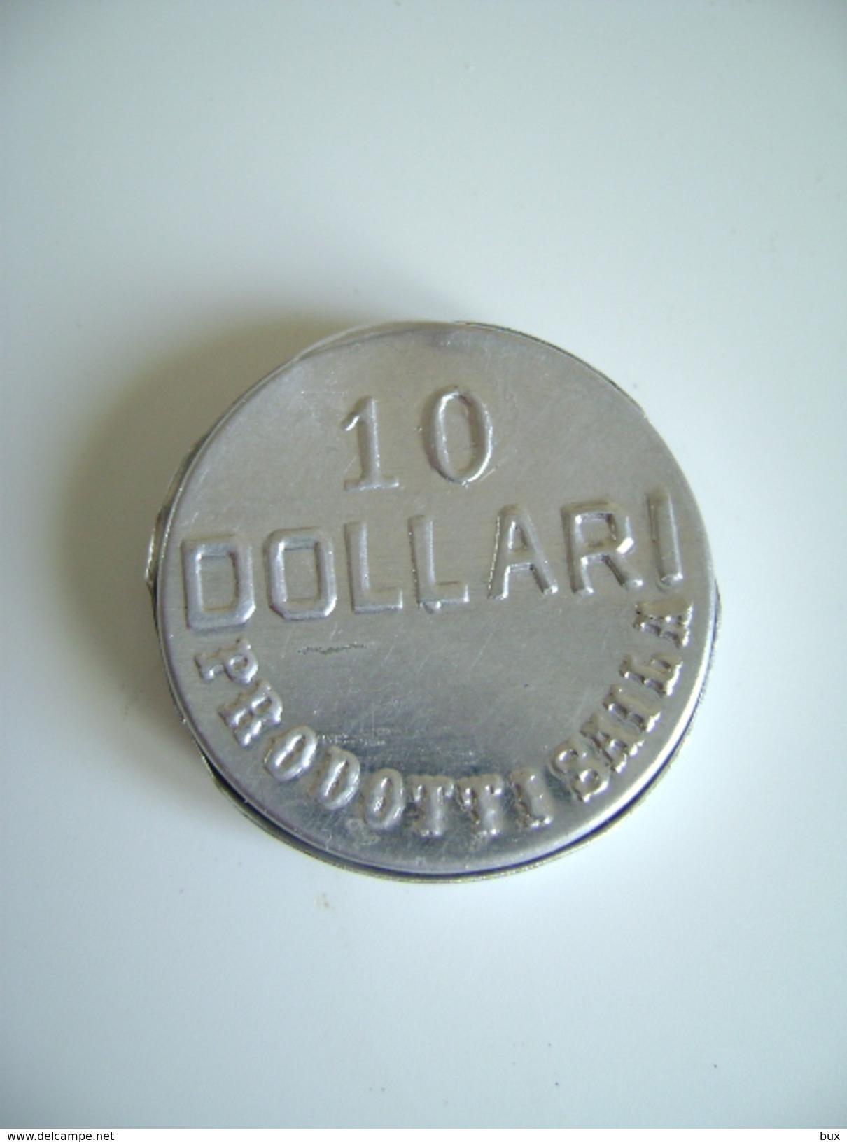 SAILA CARAMELLE AQUILA REALE 10 DOLLARI PICCOLO CONTENITORE IN ALLUMINIO - Scatole
