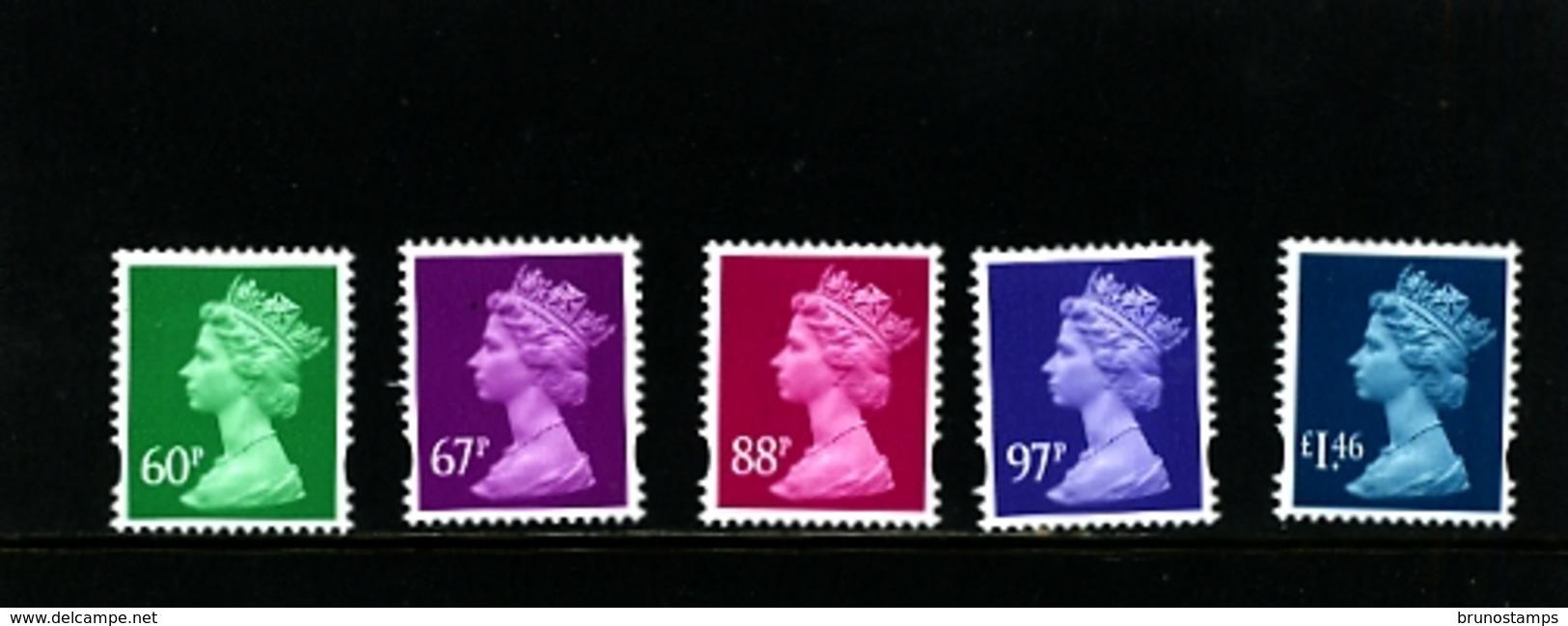 GREAT BRITAIN - 2010  MACHIN  SET  MINT NH - 1952-.... (Elisabetta II)