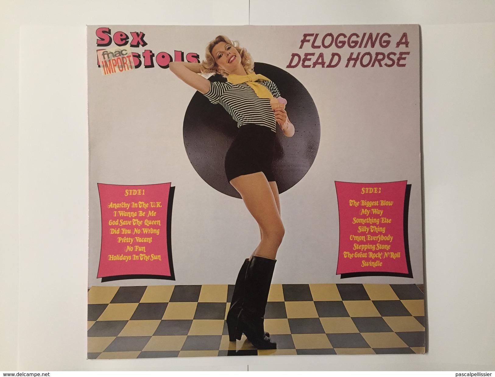 Sex Pistols Flogging A Dead Horse Import 1979 - Punk