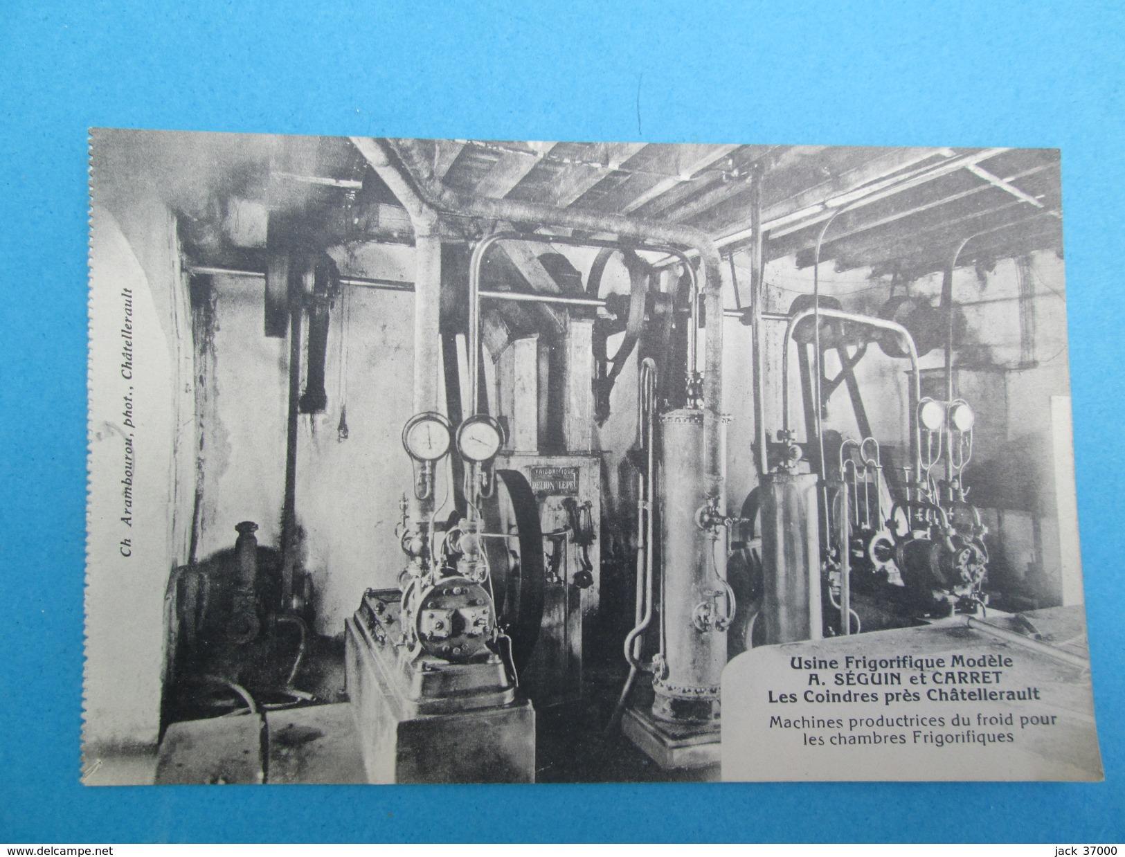 COINDRES  Usine Frigorifique SEGUIN & CARRET   Machines Productrices Du Froid - Other Municipalities