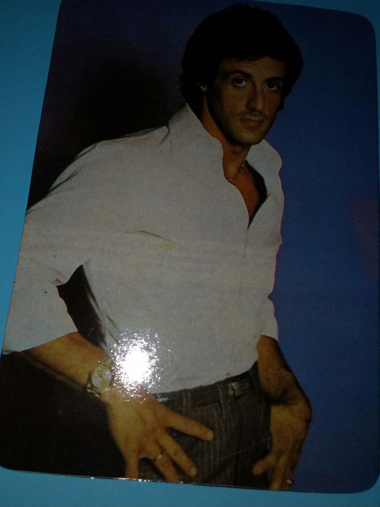 Pocket Calendar Sylvester Stallone - Tamaño Pequeño : 1981-90