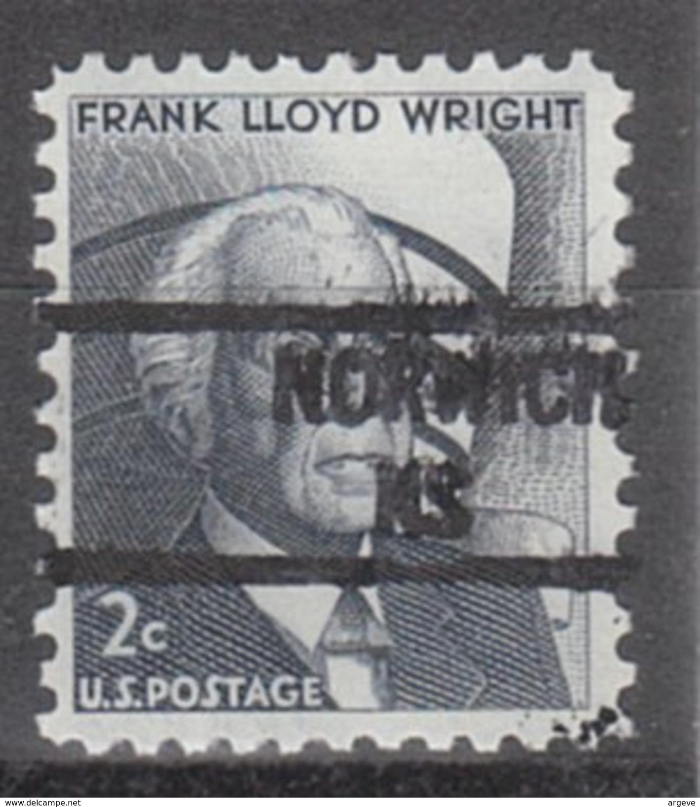 USA Precancel Vorausentwertung Preos Locals Kansas, Norwich 841 - Vereinigte Staaten