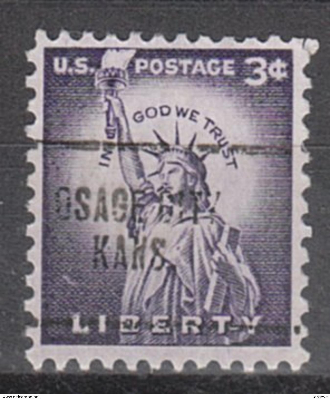 USA Precancel Vorausentwertung Preos Locals Kansas, Osage City 704 - Vereinigte Staaten