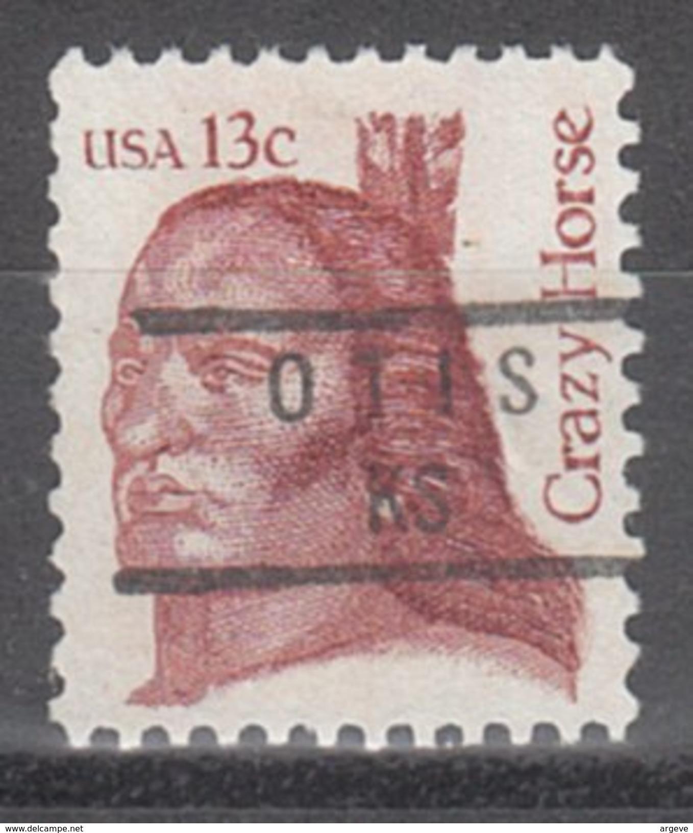 USA Precancel Vorausentwertung Preos Locals Kansas, Otis 840 - Vereinigte Staaten