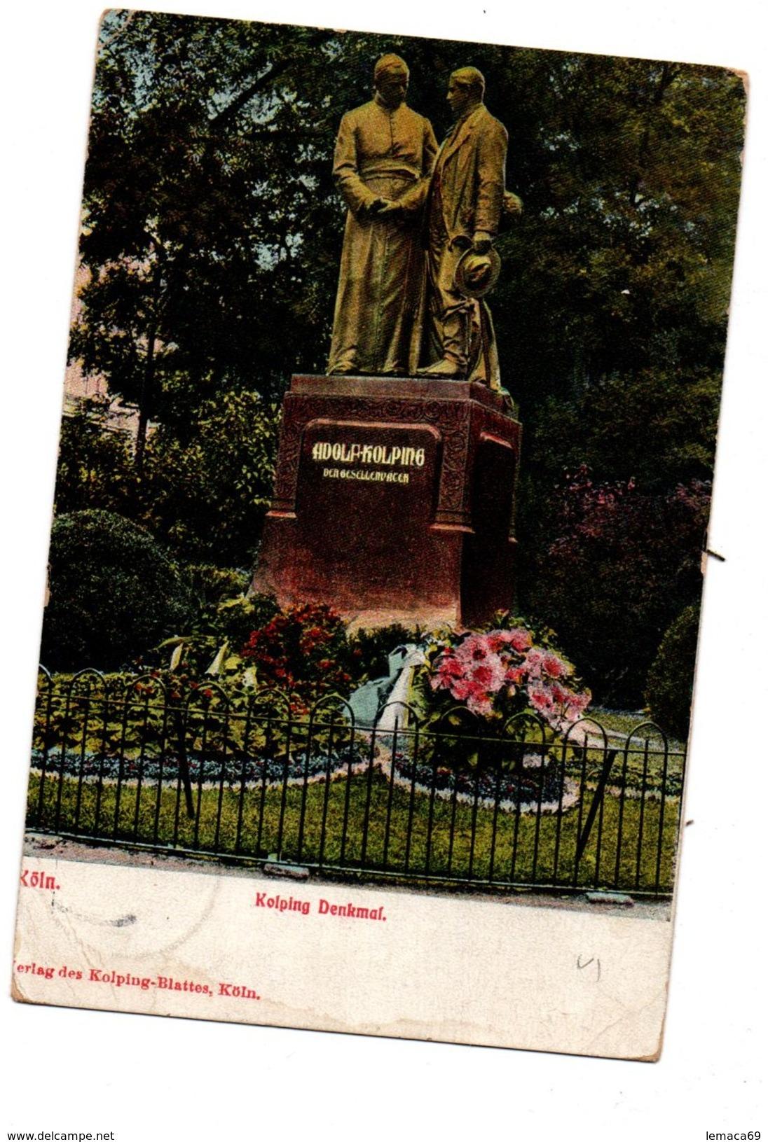 Cpa Kolping Denkmal - Köln