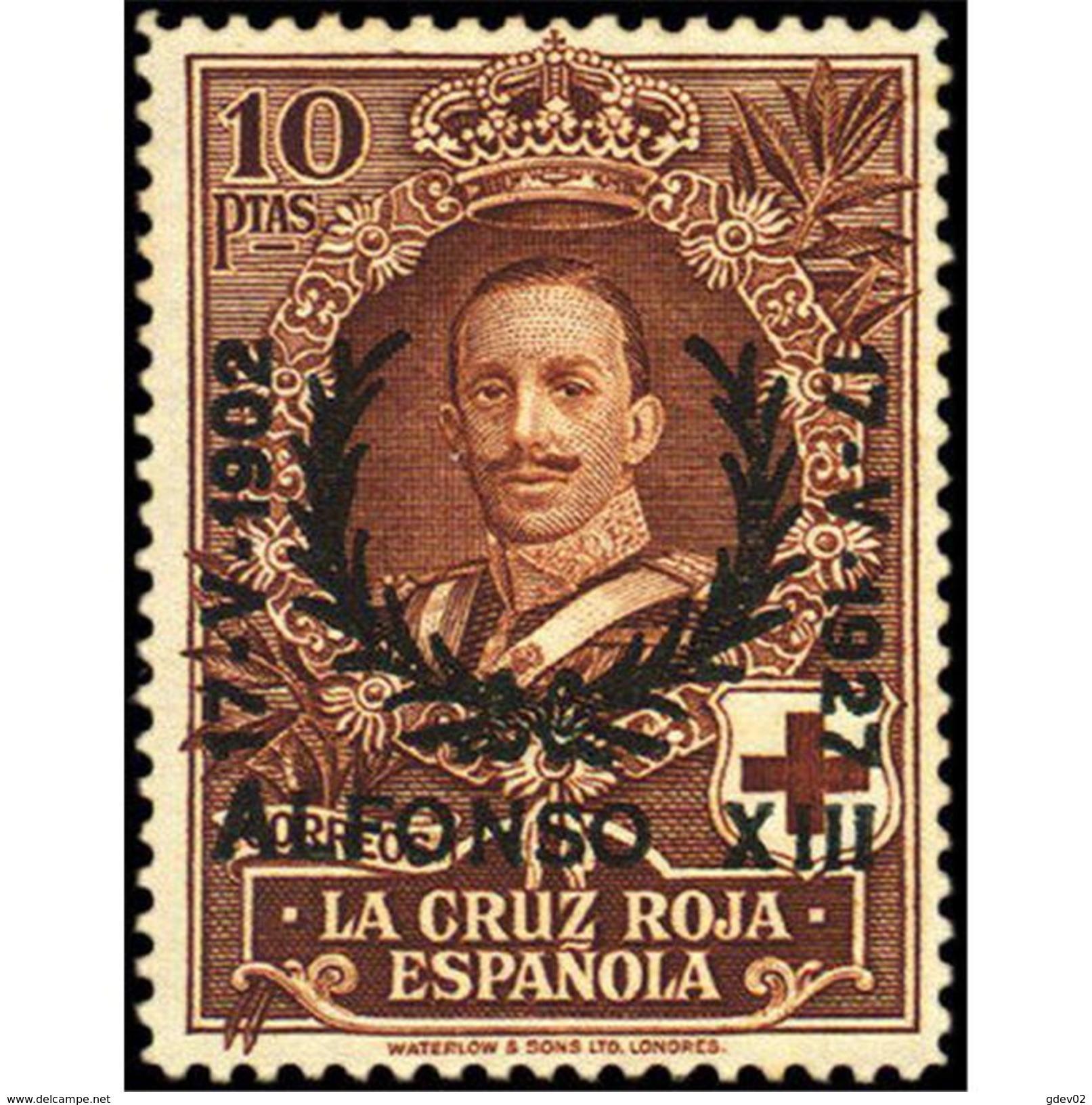ES361STV-LFT*361S.España. Spain   Espagne.JUBILEO DEL REY  ALFONSO Xlll.1927 (Ed 361*) MAGNIFICO - 1889-1931 Reino: Alfonso XIII