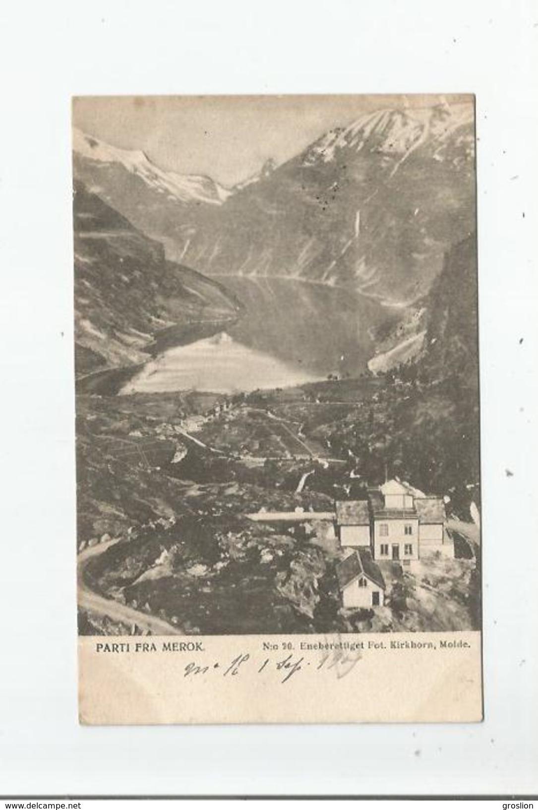 (GEIRANGER SONDMOR) 20 PARTI FRA MEROK 1905 - Norvège