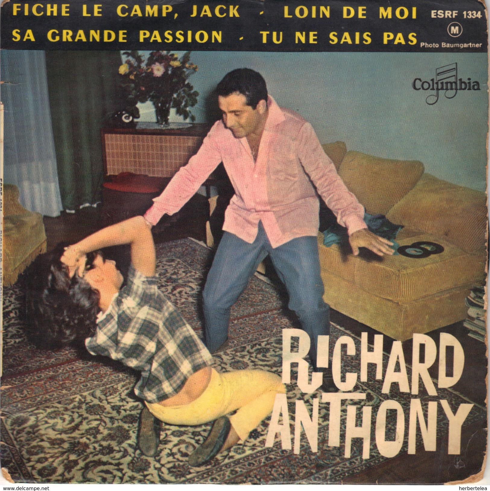45tep Richard Anthony - Vinyl Records