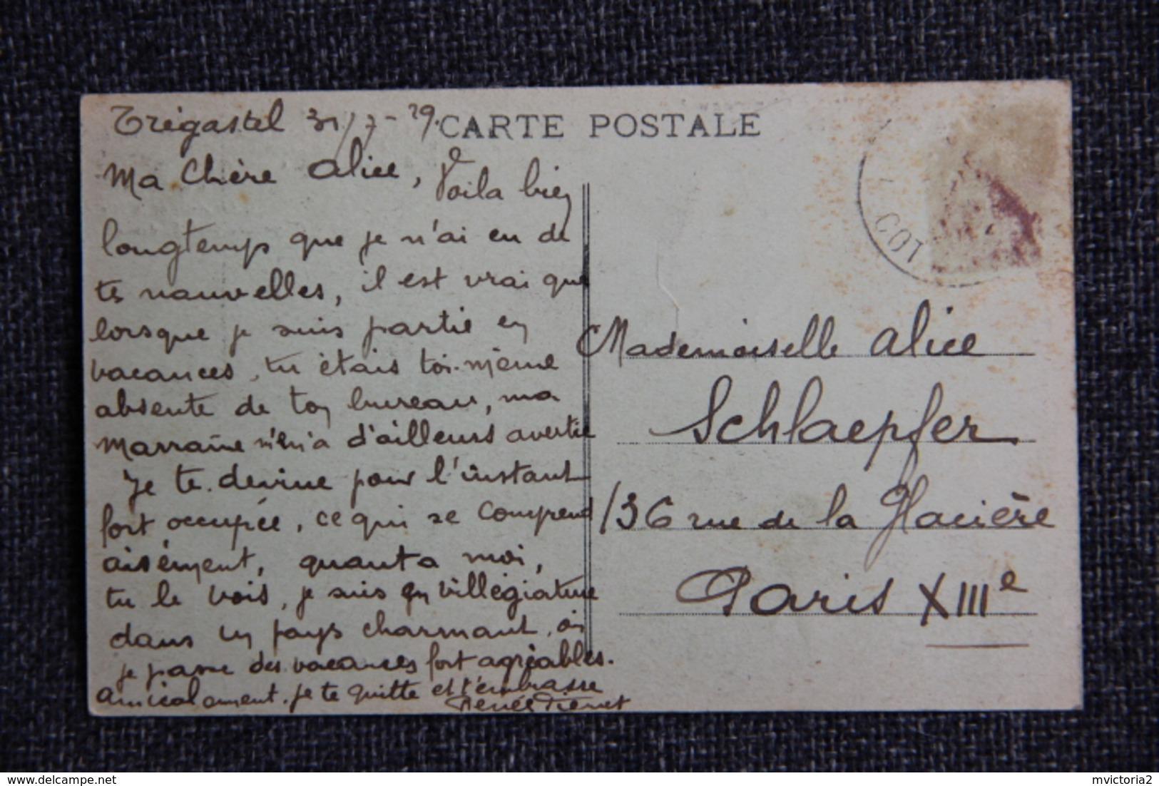 """Rocher Dit """" Le Chameau"""" à TREGASTEL - Trégastel"""