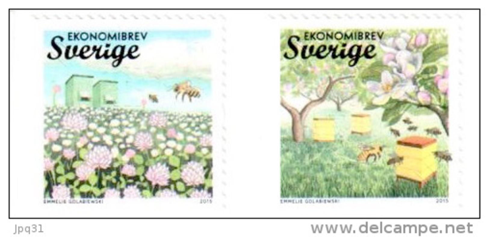 Suède 2015 Apiculture ** - Neufs