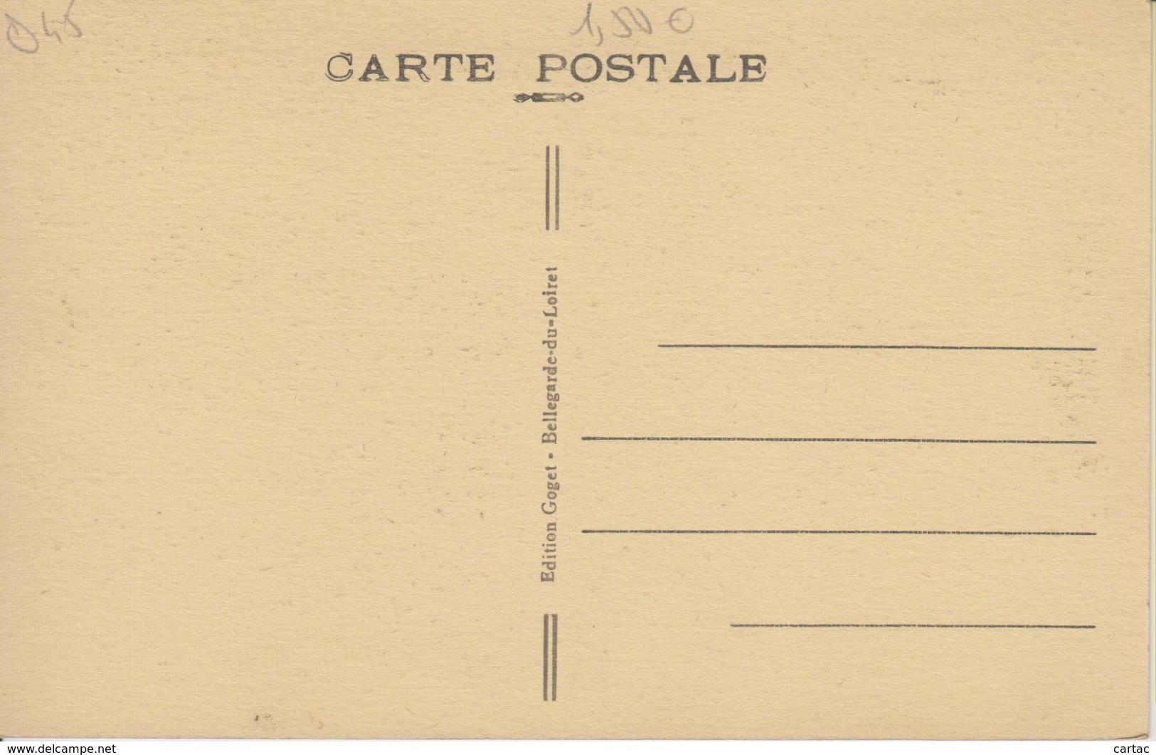 D45 - BELLEGARDE DU LOIRET - ESCALIERS DU DONJON - France