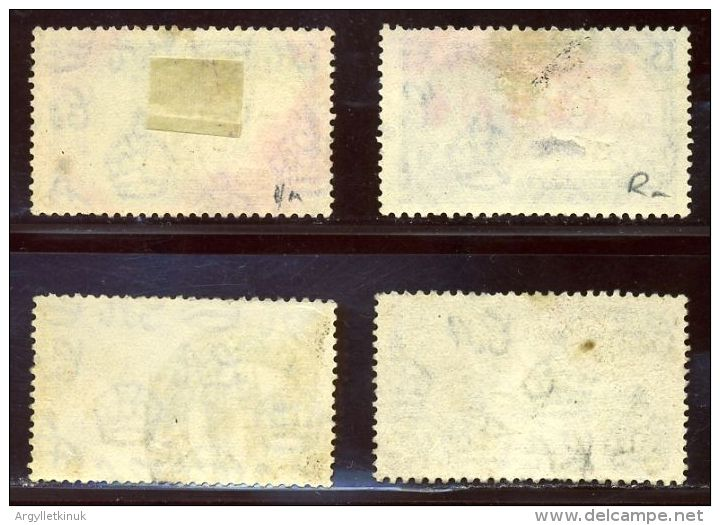 HONG KONG 1935 KGV SILVER JUBILEE POSTMARKS - Unclassified