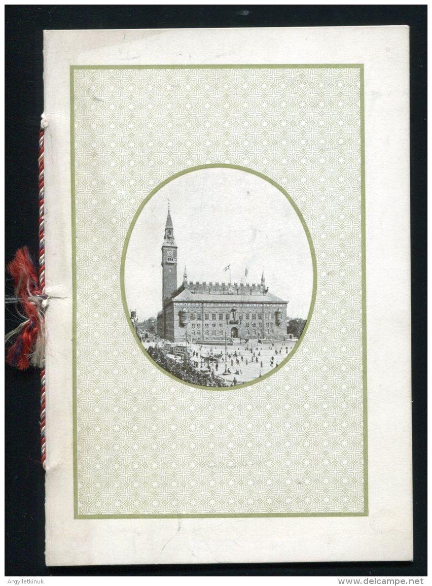 DANISH COPENHAGEN MIDDAG RAADHUS MENU SIR WILLIAM WATERLOW LORD MAYOR - Books, Magazines, Comics
